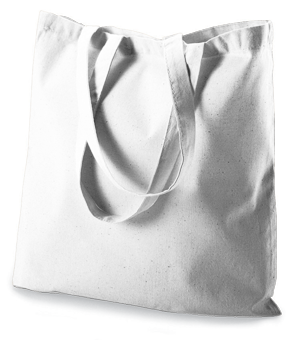 Augusta 6 Ounce Canvas Budget Tote